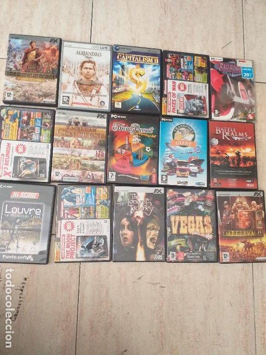 Videojuegos y Consolas: Lote de 40 juegos de PC. - Foto 2 - 206771105
