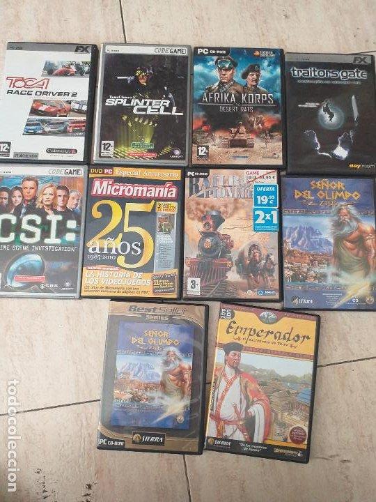 Videojuegos y Consolas: Lote de 40 juegos de PC. - Foto 3 - 206771105