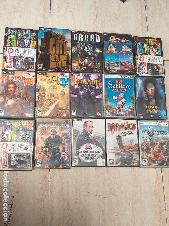 LOTE DE 40 JUEGOS DE PC. (Juguetes - Videojuegos y Consolas - PC)