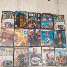 Videojuegos y Consolas: LOTE DE 40 JUEGOS DE PC.. Lote 206771105