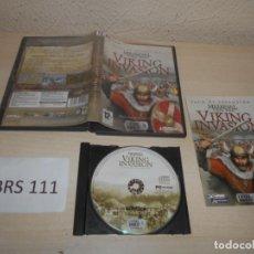 Videojuegos y Consolas: PC - MEDIEVAL TOTAL WAR - VICKING INVASION , EDICION ESPAÑOLA , COMPLETO. Lote 206946458