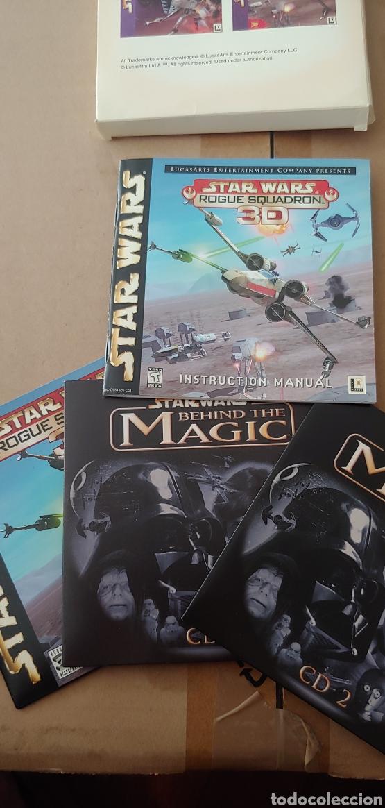 Videojuegos y Consolas: Star wars rogue squadron 3d + behind the magic guia para pc años 90 nuevo - Foto 2 - 207087755