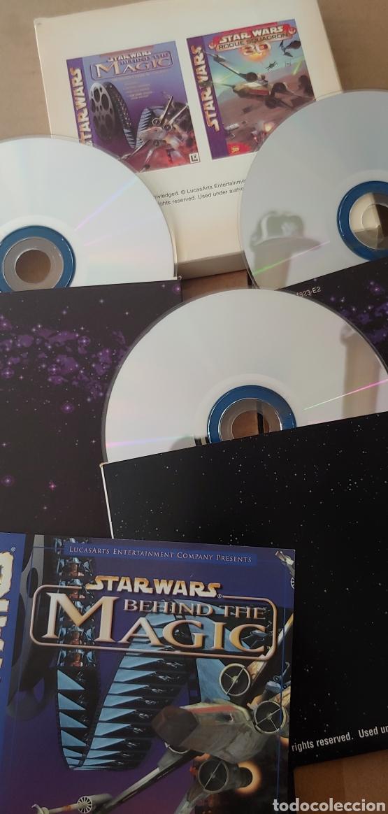 Videojuegos y Consolas: Star wars rogue squadron 3d + behind the magic guia para pc años 90 nuevo - Foto 3 - 207087755