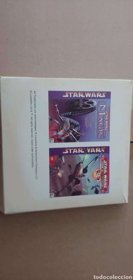 STAR WARS ROGUE SQUADRON 3D + BEHIND THE MAGIC GUIA PARA PC AÑOS 90 NUEVO (Juguetes - Videojuegos y Consolas - PC)
