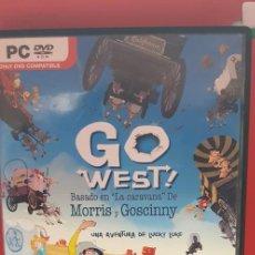 Videojuegos y Consolas: GO WEST! UNA AVENTURA DE LUCKY LUKE. Lote 207131162
