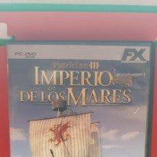 Videojuegos y Consolas: PATRICIAN III-IMPERIO DE LOS MARES. Lote 207131551