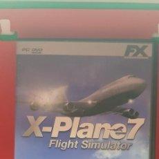 Videojuegos y Consolas: X-PLANE 7-FLIGHT SIMULATOR. Lote 207132471