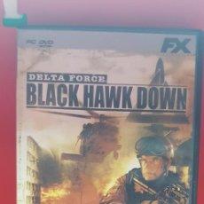 Videojuegos y Consolas: DELTA FORCE-BLACK HAWK DOWN-NOVALOGIC. Lote 207133405