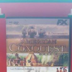 Videojuegos y Consolas: AMERICAN CONQUEST-EDICIÓN DE ORO. Lote 207133832