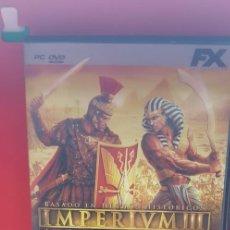 Videojuegos y Consolas: IMPERIVM III-LAS GRANDES BATALLAS DE ROMA. Lote 207133985