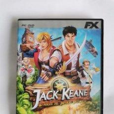 Videojuegos y Consolas: JACK KEANE PC. Lote 207247128