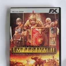 Videojuegos y Consolas: IMPERIVM II PC LA CONQUISTA DE HISPANIA. Lote 207248143