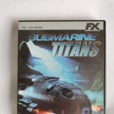 Videojuegos y Consolas: SUBMARINE TITANS PC. Lote 207248312