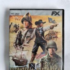 Videojuegos y Consolas: ESTRATEGIA HISTÓRICA PC. Lote 207248668