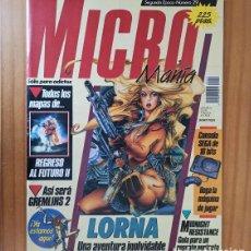 Videojuegos y Consolas: MICROMANIA 29 SEGUNDA EPOCA, LORNA, GREMLINS 2, MIDNIGHT RESISTENCE, LOOM... MICRO MANIA. Lote 207255393