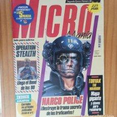 Videojuegos y Consolas: MICROMANIA 32 SEGUNDA EPOCA, NARCO POLICE, OPERATION STEALTH, TORVAK THE WARRIOR... MICRO MANIA. Lote 207255491