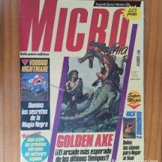 Videojuegos y Consolas: MICROMANIA 34 SEGUNDA EPOCA, GOLDEN AXE, RICK DANGEROUS 2, VOODOO NIGHTMARE... MICRO MANIA. Lote 207255546