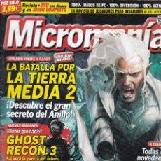 Videojuegos y Consolas: 2 REVISTA MICROMANIA Nº 128 Y 215.JUEGOS PC.SIN CD. Lote 207265623