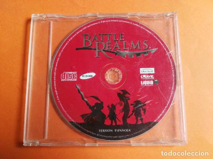 BATTLE REALMS PC CD-ROM WINDOWS (Juguetes - Videojuegos y Consolas - PC)