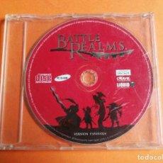 Videojuegos y Consolas: BATTLE REALMS PC CD-ROM WINDOWS. Lote 207273996
