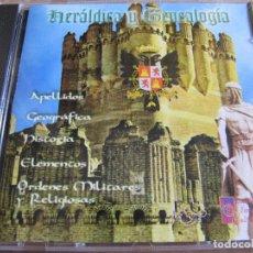 Videojuegos y Consolas: CD PARA ORDENADOR PC ENCICLOPEDIA MULTIMEDIA HERALDICA Y GENEALOGIA 1997. Lote 207387737