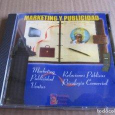 Videojuegos y Consolas: CD PARA ORDENADOR PC ENCICLOPEDIA MULTIMEDIA MARKETING Y PUBLICIDAD 1996. Lote 207392683