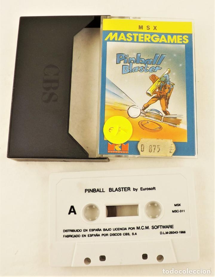 JUEGO PC PINBALL BLASTER MSX (Juguetes - Videojuegos y Consolas - PC)