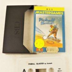 Videojuegos y Consolas: JUEGO PC PINBALL BLASTER MSX. Lote 208471303