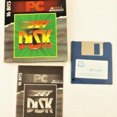 Videojuegos y Consolas: PROGRAMA JET DISK PC. Lote 208472640