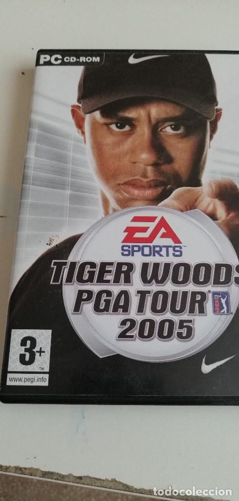 G-5 JUEGO PC CDROM TIGER WOODS PGA TOUR 2005 (Juguetes - Videojuegos y Consolas - PC)