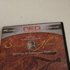 Videojogos e Consolas: G-5 JUEGO PC CDROM EL MISTERIO DE LA MOMIA SHERLOCK HOLMES ARTHUR CONAN DOYLE PARA PC. Lote 208520223