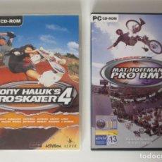 Videojogos e Consolas: TONY HAWK´S PROSKATER 4 Y MAT HOFFMAN´S PRO BMX - PARA PC.. Lote 208911240