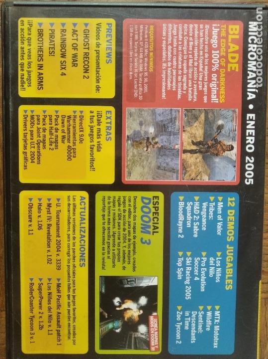 Videojuegos y Consolas: MICROMANIA Nº 120 DVD ROM- BLADE THE EDGE OF DARKNESS JUEGO COMPLETO + 12 DEMOS Y +++ - Foto 2 - 210002038