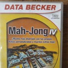 Videojuegos y Consolas: MAH-JONG IV - PC CD-ROM -. Lote 210003023