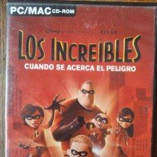 Videojuegos y Consolas: LOS INCREIBLES, CUANDO SE ACERCA EL PELIGRO - PC CD-ROM -. Lote 210003531