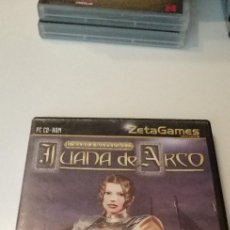 Videojuegos y Consolas: G-10 JUEGO PARA PC CD-ROM - JUANA DE ARCO - ZETA GAMES. Lote 210055653