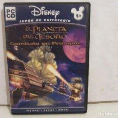 Videojuegos y Consolas: EL PLANETA DEL TESORO: BATALLA EN PROCYON - CD - PC - DISNEY - 2002 - EX+/EX+. Lote 210174817