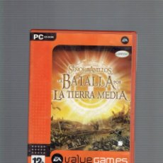 Videojogos e Consolas: PC LA BATALLA POR LA TIERRA MEDIA VALUE GAMES. Lote 210346247