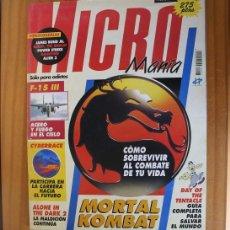 Videojuegos y Consolas: MICROMANIA 65 SEGUNDA EPOCA, MORTAL KOMBAT, DAY OF THE TENTACLE, ALONE IN THE DARK 2, MANGAZINE MICR. Lote 210708426