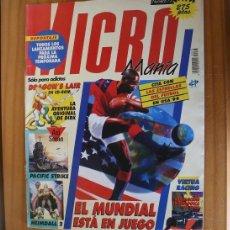 Videogiochi e Consoli: MICROMANIA 73 SEGUNDA EPOCA, DRAGON'S LAIR, HEIMDALL 2, VIRTUA RACING, BENEATH A STEEL SKY MICRO MAN. Lote 210708525