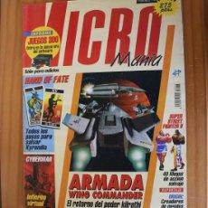 Videojuegos y Consolas: MICROMANIA 76 SEGUNDA EPOCA, ARMADA WING COMMANDER, HAND OF FATE, SUPER STREET FIGHTER II MICRO MANI. Lote 210708576