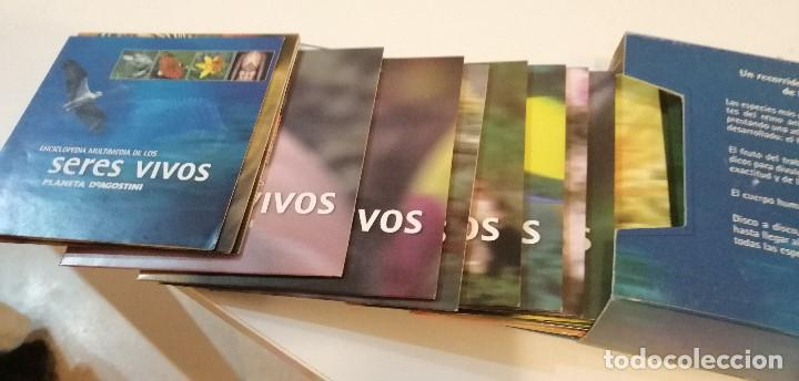 Videojuegos y Consolas: G-10 PC CD ROM ENCICLOPEDIA MULTIMEDIA DE LOS SERES VIVOS PLANETA AGOSTINI 14 CD CON EMPAQUE - Foto 2 - 210974852