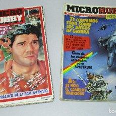 Videojuegos y Consolas: LOTE 25 REVISTAS MICRO HOBBY MICROHOBBY Nº ENTRE 3 Y 188. Lote 84514030