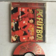 Videojuegos y Consolas: PC FUTBOL SELECCION ESPAÑOLA PC CD ROM WINDOWS 95 MUNDIAL 98 CLASIFICACION EUROCOPA 2000 KREATEN. Lote 211680376