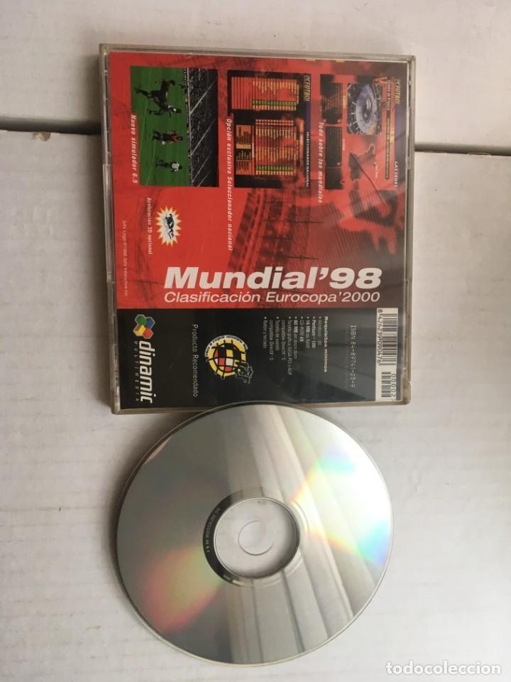 Videojuegos y Consolas: PC FUTBOL SELECCION ESPAÑOLA PC CD ROM WINDOWS 95 MUNDIAL 98 CLASIFICACION EUROCOPA 2000 KREATEN - Foto 2 - 211680376