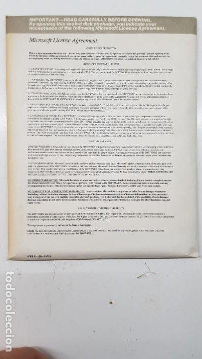 """Videojuegos y Consolas: Microsoft QuickC v2.0 (Compilador, 1988) Paquete 10 Discos 5.1/4"""" con licencia. - Foto 5 - 211718506"""