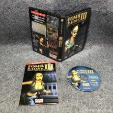 Videojuegos y Consolas: TOMB RAIDER III ADVENTURES OF LARA CROFT PC. Lote 211922220