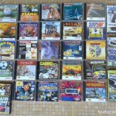 Videojuegos y Consolas: LOTE 28 JUEGOS PARA PC ORDENADOR ANTIGUOS - DISCOS EN MUY BUEN ESTADO. Lote 212216598
