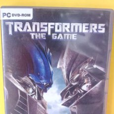Videojuegos y Consolas: PC DVD-ROM. TRANSFORMERS THE GAME.. Lote 212990638