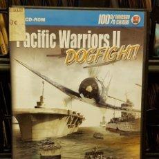Videojuegos y Consolas: PC CD-ROM - PACIFIC WARRIORS II DOGFIGHT - CD-ROM + INSTRUCCIONES. Lote 213711075